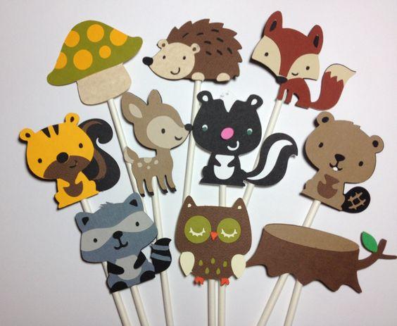 8 Photos of Cupcakes Fox Owl Hedgehog Raccoon