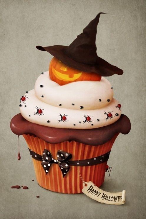 Awesome Halloween Cupcake
