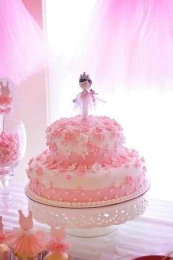 Ballerina Birthday Cakes for Girls