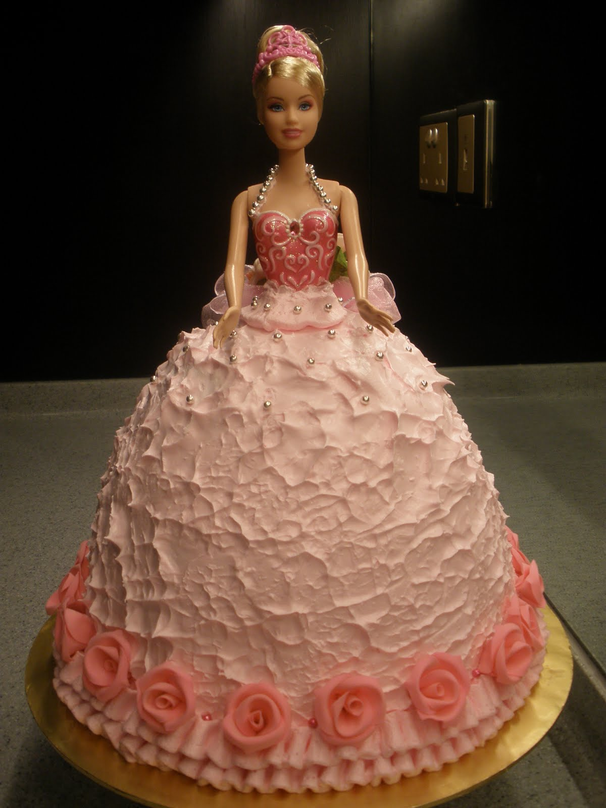 Barbie Birthday Cake Idea
