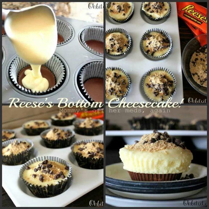 Bottoms No-Bake Reese Cup Cheesecake