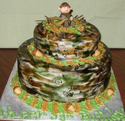 Bow Deer Hunter Birthday Cakes