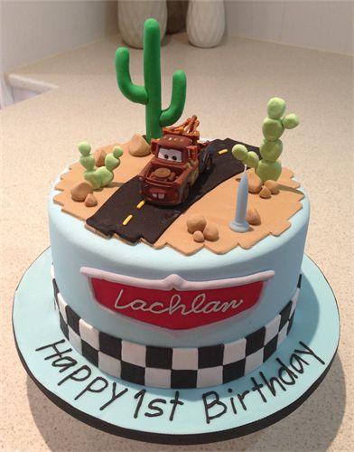 Cars Mater Birthday Cake