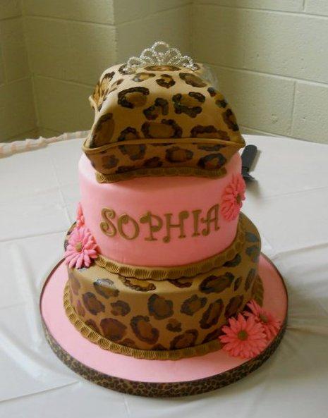 12 Photos of Cheetah Cakes For Baby Boy