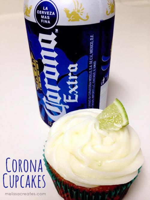 Corona Beer Cupcakes