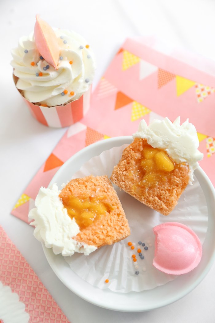 Cupcakes with Orange Marmalade