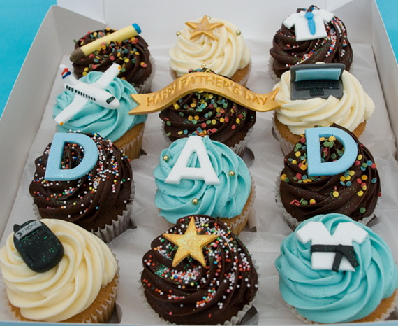 Father's Day Cupcake Decorating Ideas