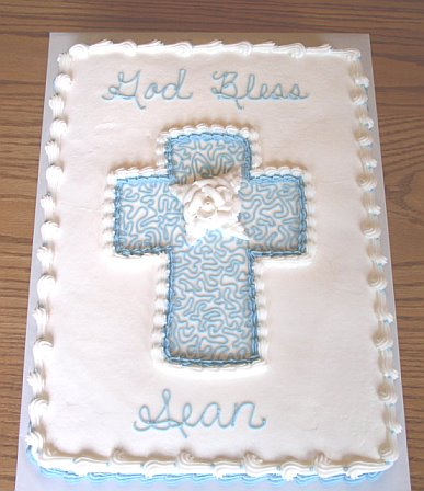 First Communion Sheet Cakes