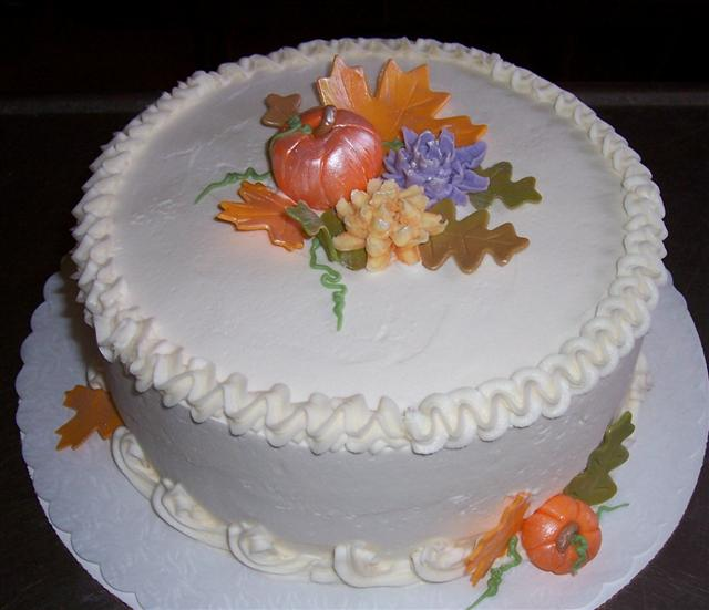 Happy Thanksgiving Birthday Cake