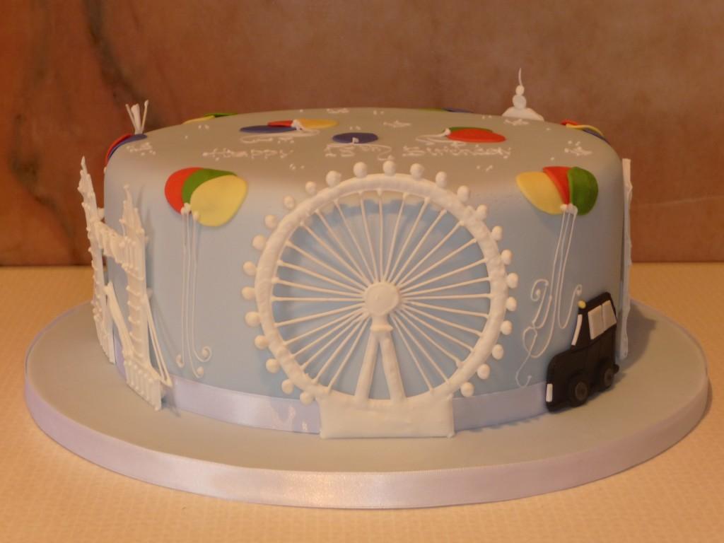 London Eye Birthday Cake