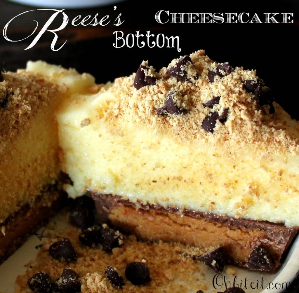 Mini Reese's Bottom Cheesecake Recipe