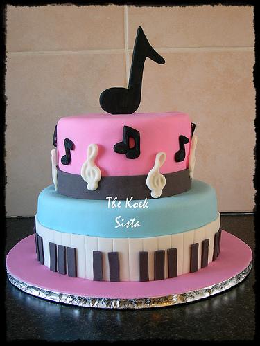 Music Themed Cake Ideas
