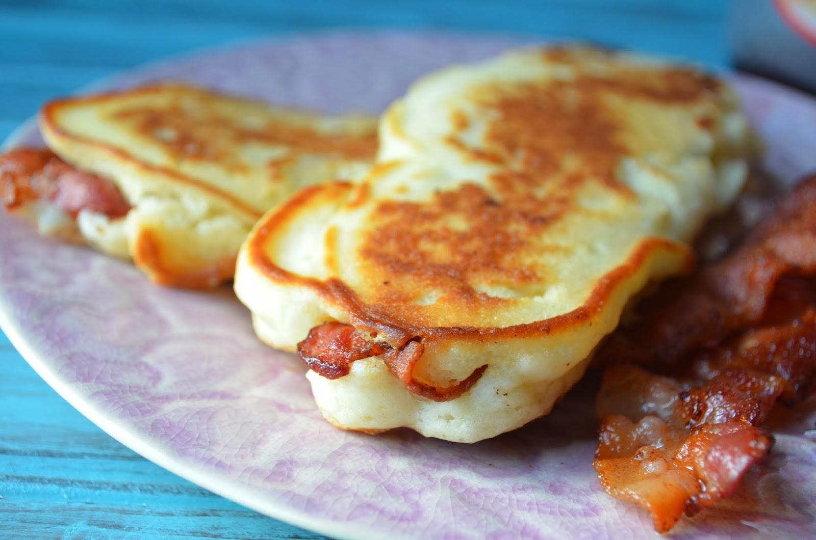 9 Photos of Bacon Wrapped Pancakes