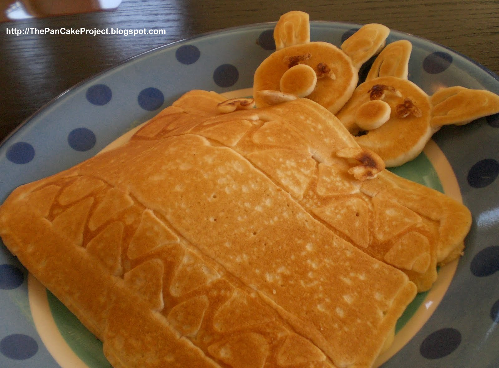 Pancakes and Sausage Pigs in a Blanket