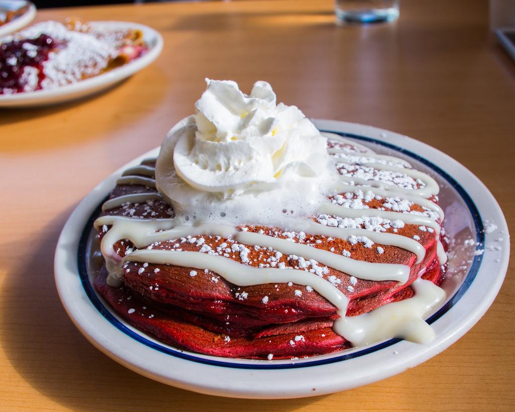 Red Velvet Pancakes Ihop