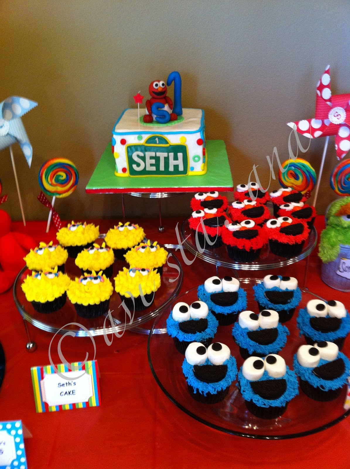 Sesame Street Birthday Cake Ideas