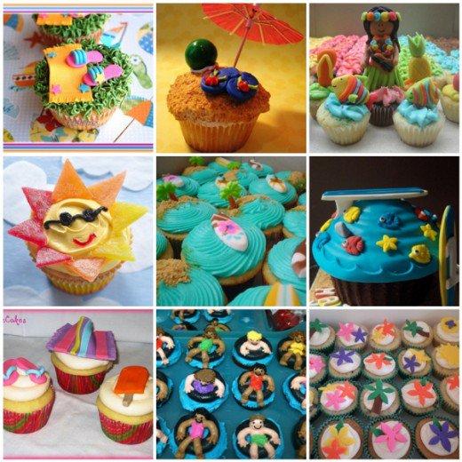 Summer Cupcake Decorating Ideas
