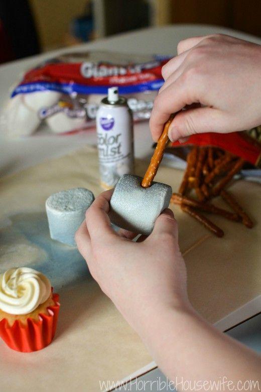 Thor Hammer Cupcakes