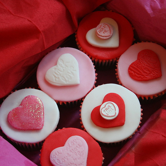 13 Photos of For Valentine's Cupcakes