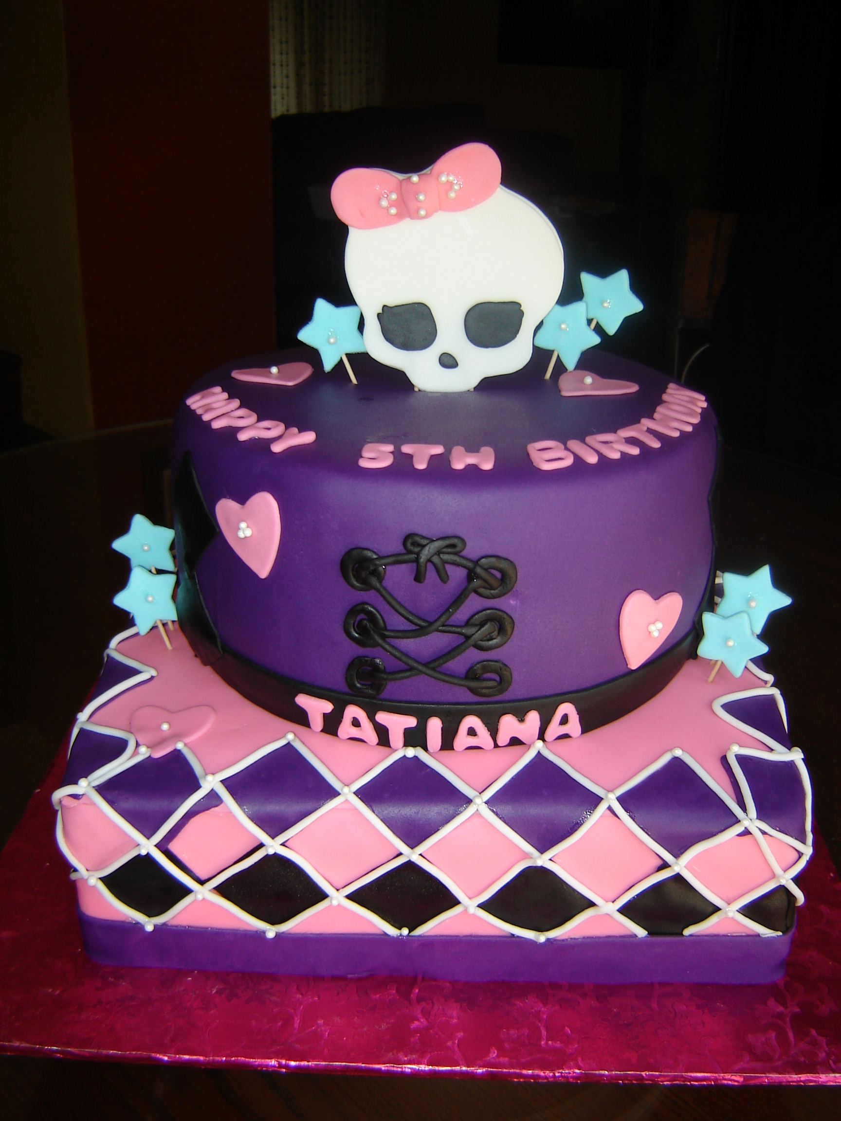 Walmart Monster High Birthday Cakes