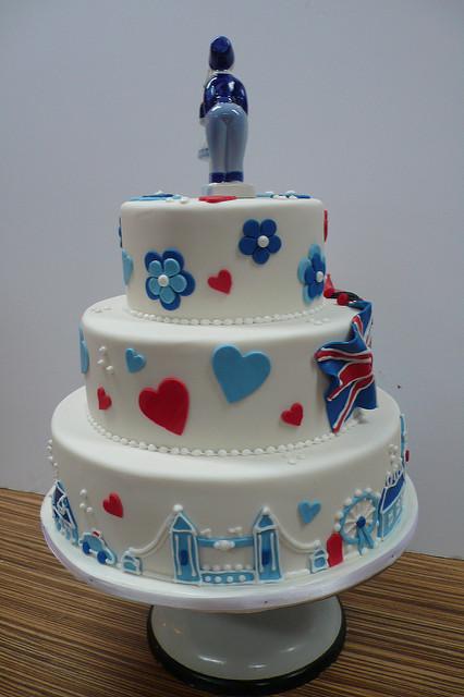 Wedding Cakes with Bridges