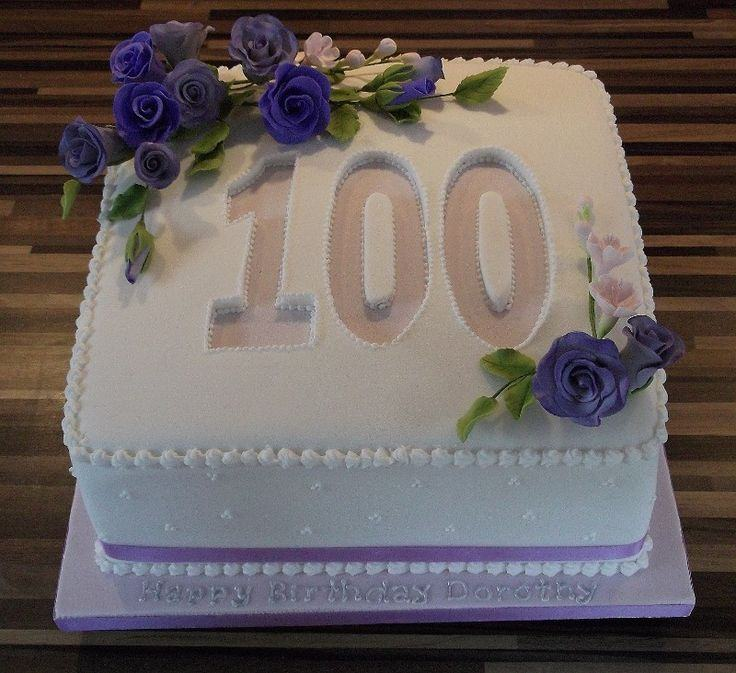 100th Birthday Cake Ideas