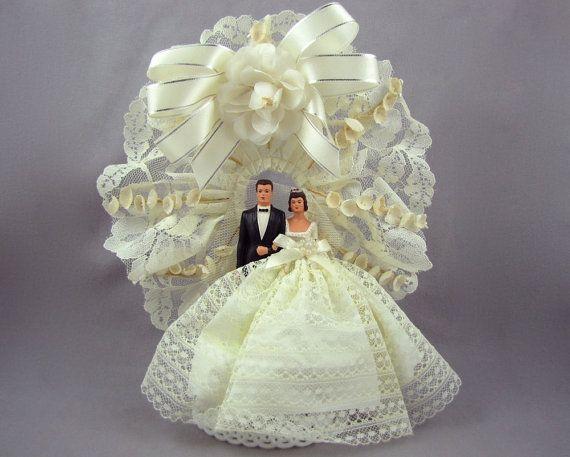 1960s Wedding Cake Topper