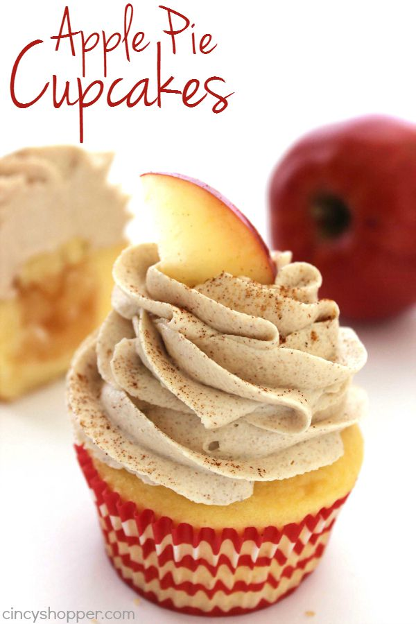 Apple Pie Cupcakes with Filling Recipe
