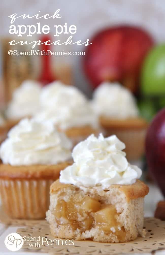 Apple Pie Filling Cupcake Recipe
