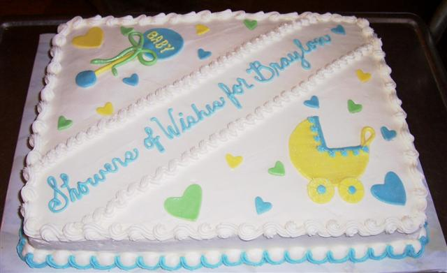 Baby Shower Sheet Cake Designs