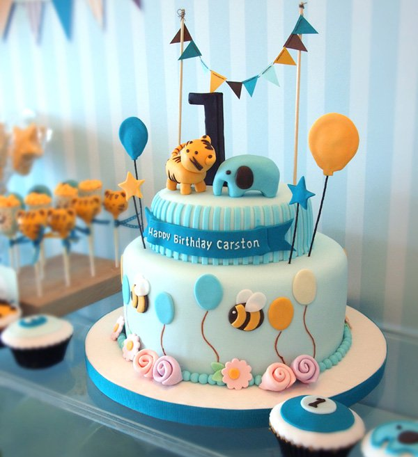 9 Photos of Cute Cakes For Baby Boy Themes