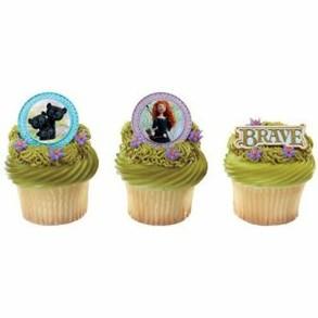 Brave Princess Merida Cupcakes