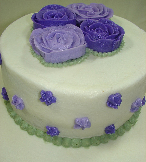 Bridal Shower Cakes with Buttercream Flowers