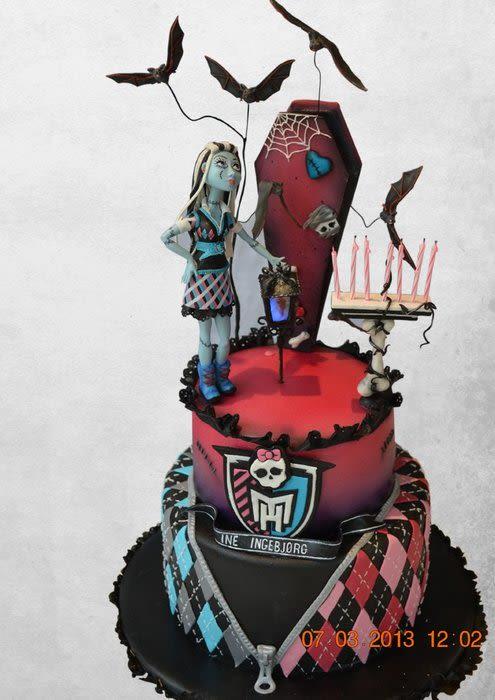 Cake Monster High School