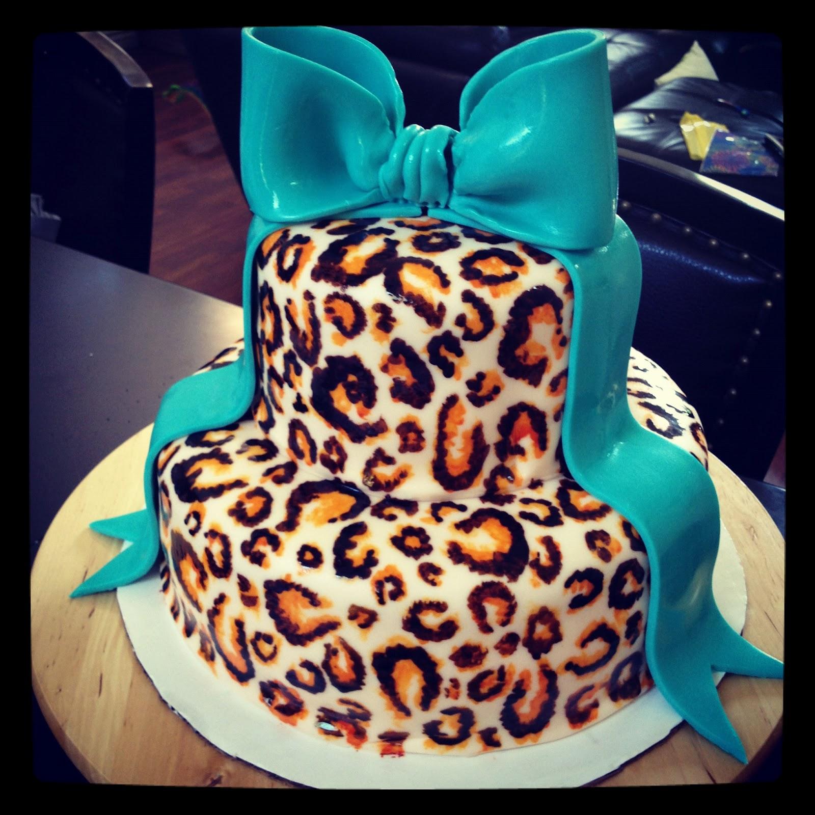 Cheetah Birthday Cakes for Girls