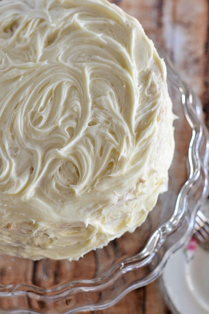 Chocolate Cream Cheese Layer Cake