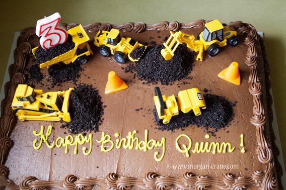 11 Photos of Construction Sheet Cakes For Boys