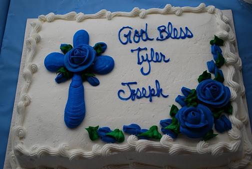 Costco Baptism Cake