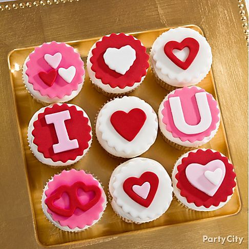 Cupcake Valentine's Day Sayings