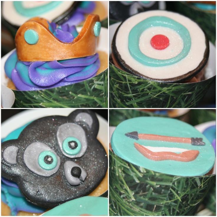 Disney Brave Birthday Cupcakes