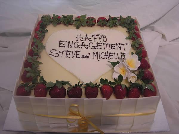 Engagement Cakes Ideas Designs