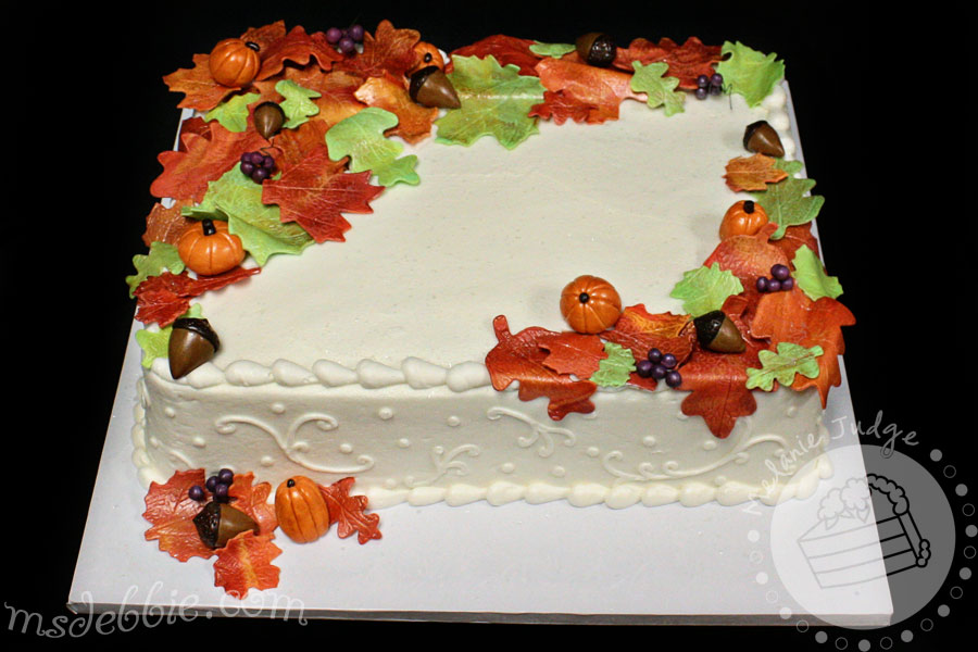 9 Photos of Fall Decorated Theme Cakes