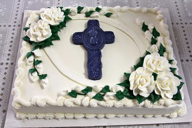 10 Photos of Costco Christening Cakes