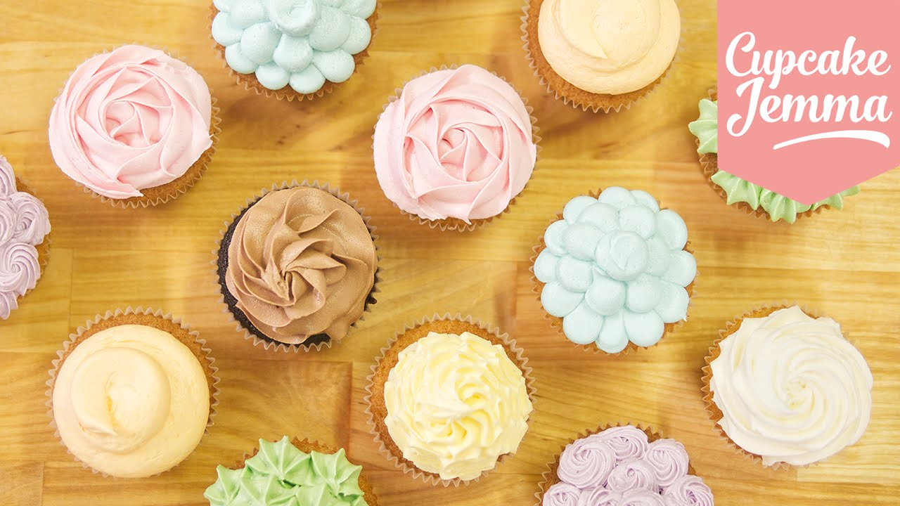 9 Photos of Buttercream Piping On Cupcakes