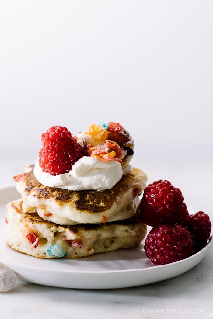 Fruity Pebble Pancake
