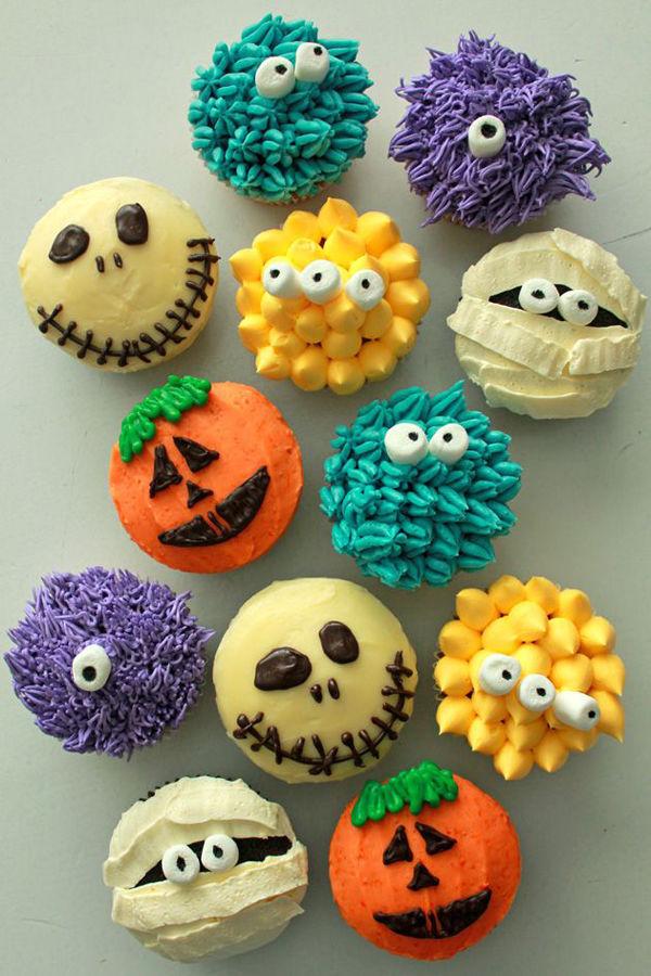 11 Photos of Adorable Halloween Cupcakes
