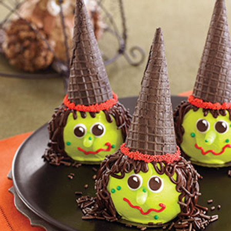 Halloween Treats Witch Cupcakes