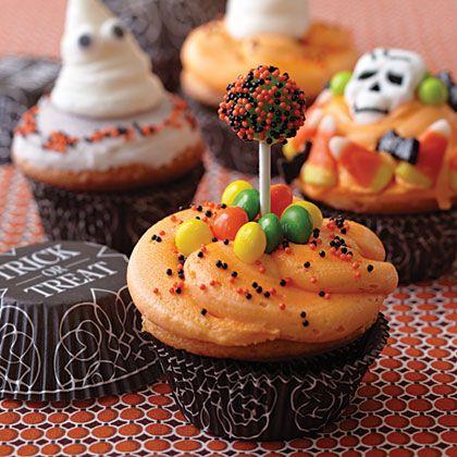 Halloween Trick or Treat Cupcake