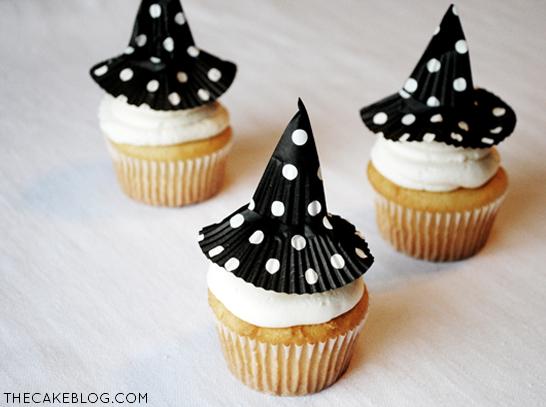 11 Photos of DIY Halloween Witches Cupcakes