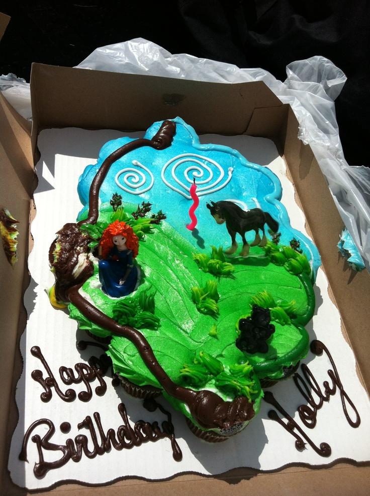 Happy Birthday Cake Brave